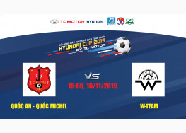 [LIVE STREAM] QUỐC AN - QUỐC MICHEL vs W-TEAM | VÒNG 5 SAIGON PREMIER LEAGUE 2019