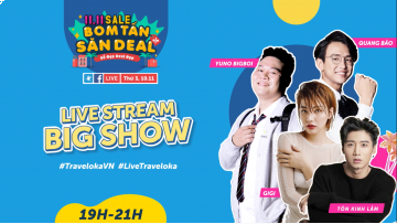 LIVESTREAM BIGSHOW 11.11 CÙNG TRAVELOKA